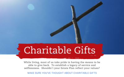 Should Your Estate Plan Include Charitable Giving?